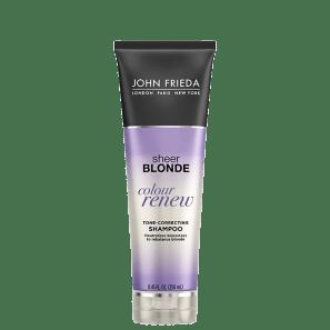 John Frieda Sheer Blonde Color Renew Tone - Shampoo Desamarelador 250ml