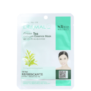 Dermal Green Tea - Máscara Facial (1 unidade)