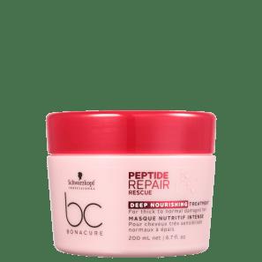 Schwarzkopf Professional BC Bonacure Peptide Repair Rescue Deep Nourish Treatment - Máscara Capilar 200ml