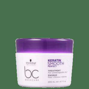 Schwarzkopf Professional BC Bonacure Keratin Smooth Perfect - Máscara Capilar 200ml