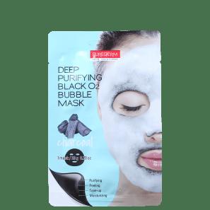 Purederm Deep Purifying Black O2 Bubble - Máscara de Limpeza Facial 20g