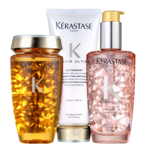 Kit Kérastase Elixir Ultime Rose (3 Produtos)