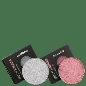 Kit Océane Glitter Prata Rosé (2 Unidades)