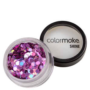 Colormake Shine Formatos Ponto Pink - Glitter