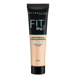 Maybelline Fit Me! Efeito Matte N80 - Base Líquida 30ml