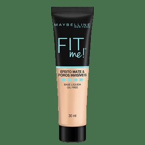 Maybelline Fit Me! Efeito Matte B100 - Base Líquida