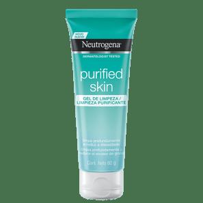 Neutrogena Purified Skin - Gel de Limpeza Facial 80g
