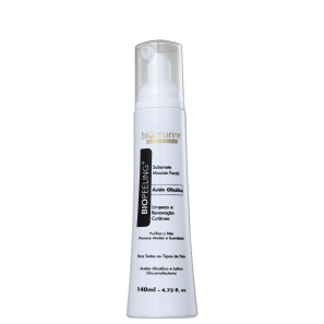 Biomarine Biopeeling Ácido Glicólico - Mousse de Limpeza Facial 140ml