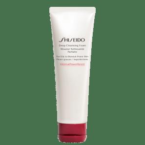 Shiseido Deep Cleansing - Espuma de Limpeza Facial 125ml