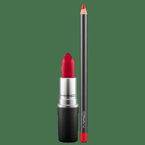 Kit M·A·C Full Ruby Woo Lip (2 Produtos)