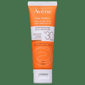 Avène Mat Perfect Aqua Fluido FPS 30 com Cor - Protetor Solar 50ml