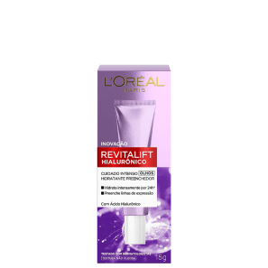 L'Oréal Paris Revitalift Hialurônico - Anti-Idade e Hidratante