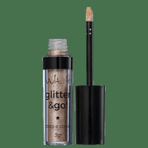Vult Glitter & Go! Pote de Ouro - Glitter 3g