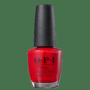 OPI Big Apple Red - Esmalte Cremoso 15ml