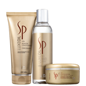 Kit SP System Professional Luxe Oil Keratin Restore Trio