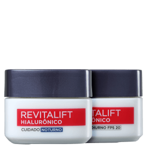 Kit L'Oréal Paris Revitalift Hialurônico Dia e Noite (2 Produtos)