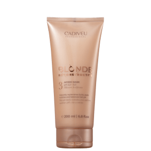 Cadiveu Blonde Reconstructor Acidic - Máscara Acidificante 200ml