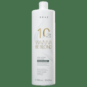 BRAÉ Wanna Be Blond 3% - Água Oxigenada 10 Volumes 900ml
