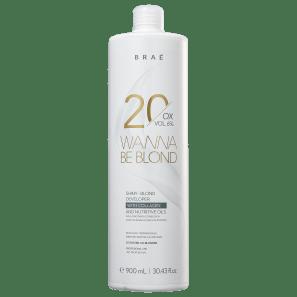 BRAÉ Wanna Be Blond 6% - Água Oxigenada 20 Volumes 900ml