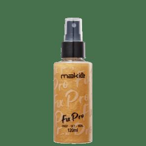 Makiê Fix Pro Gold - Fixador de Maquiagem 120ml