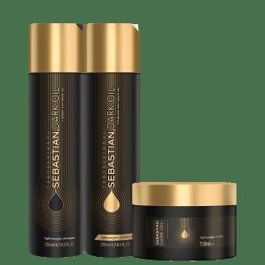 Kit Sebastian Professional Dark Oil Home Care Trio