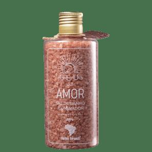 Feito Brasil Abre Alas Amor Ouro Rosa - Sais de Banho 320g