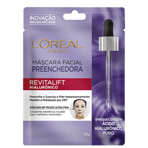 L'Oréal Paris Revitalift Hialurônico Preenchedora - Máscara Facial 30g