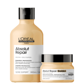 Kit L'Oréal Absolut Repair Gold Quinoa + Protein Golden Lightweight
