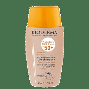 Bioderma Photoderm Nude Touch FPS 50 Claro - Protetor Solar Facial 40ml