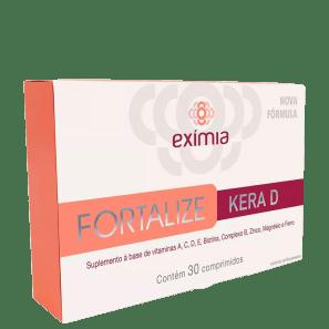 Melora Eximia Fortalize Kera D - Suplemento Vitamínico (30 Comprimidos)