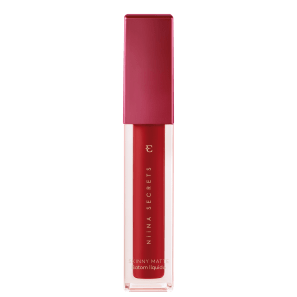 Eudora Niina Secrets Skinny Matte Vermelho Hibisco - Batom Líquido 4ml