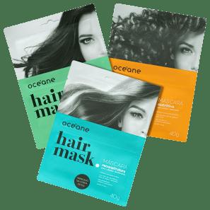 Kit Océane Hair Mask Trio (3 Produtos)