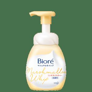Bioré Marshmallow Whip Rich Moisture - Sabonete Facial 150ml