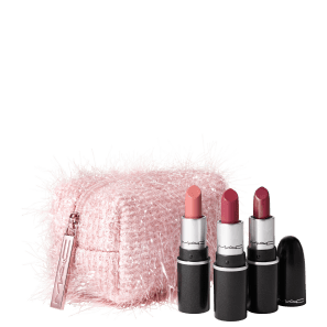 Kit M·A·C Frosted Firework Fireworked Like a Charm Lipstick Pink