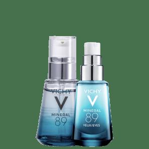 Kit Vichy Minéral 89 Rosto & Olhos (2 Produtos)