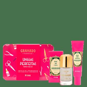 Kit Granado Pink Unhas Perfeitas