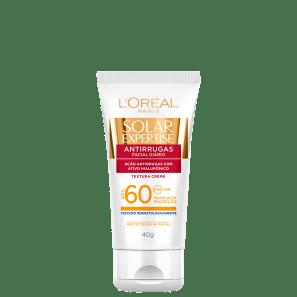 L'Oréal Paris Solar Expertise Antirrugas FPS 60 - Protetor Solar Facial 40g