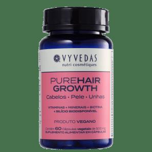 Vyvedas PureHair Growth - Suplemento Alimentar (60 Cápsulas)