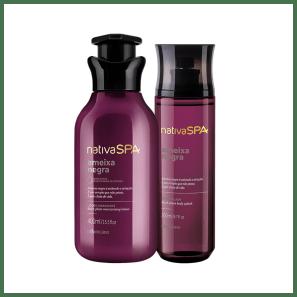 Combo Nativa SPA Ameixa Negra: Loção Hidratante Desodorante + Body Splash