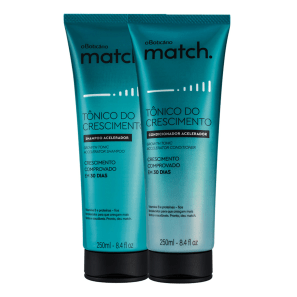 Combo Match Tônico do Crescimento: Shampoo + Condicionador