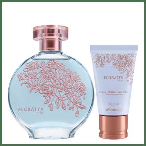 Combo Floratta Blue: Desodorante Colônia + Creme Hidratante Mãos