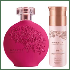 Combo Floratta Flores Secretas: Desodorante Colônia + Creme Hidratante