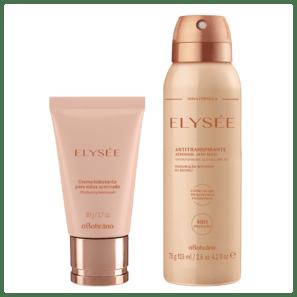Combo Elysée: Creme Hidratante para Mãos + Desodorante Aerosol