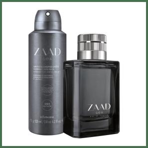 Combo Zaad Go: Eau de Parfum + Desodorante Antitranspirante Aerossol
