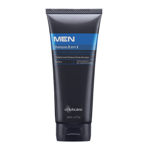 Shampoo 2 em 1 Anticaspa/Ultraforça MEN, 200ml