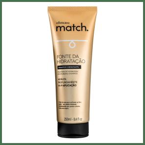 Shampoo Match Fonte da Hidratação, 250ml