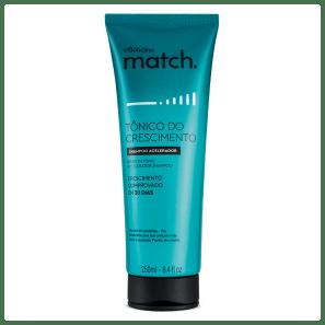 Shampoo Match Tônico do Crescimento, 250ml