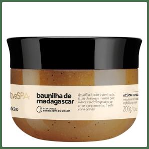Açúcar Esfoliante Óleo Desodorante Nativa SPA Baunilha de Madagascar 200g