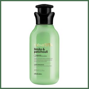 Loção Hidratante Desodorante Corporal Nativa SPA Limão e Patchouli 400ml
