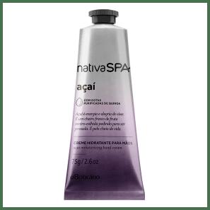 Creme Hidratante para Mãos Desodorante Nativa SPA Açaí 75g